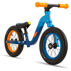 s'cool pedeX 1 Niños, blue/orange matt